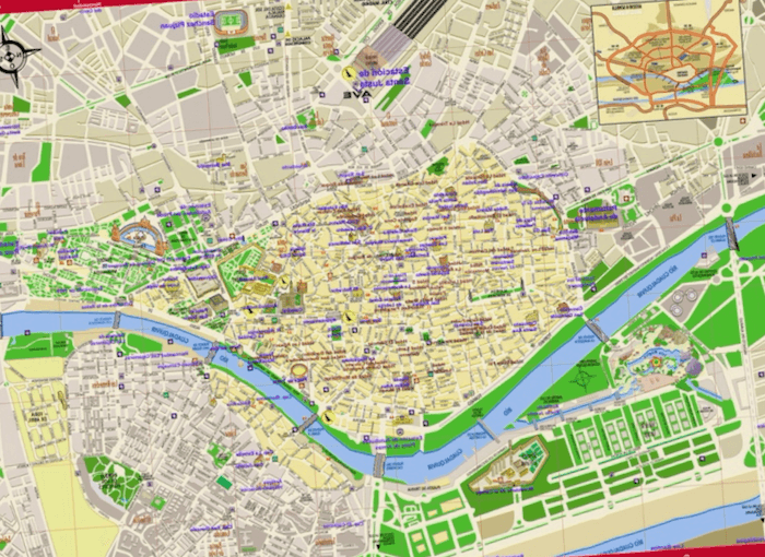 Mapa Turistico De Sevilla La Mejor Guia De Viaje De 2020