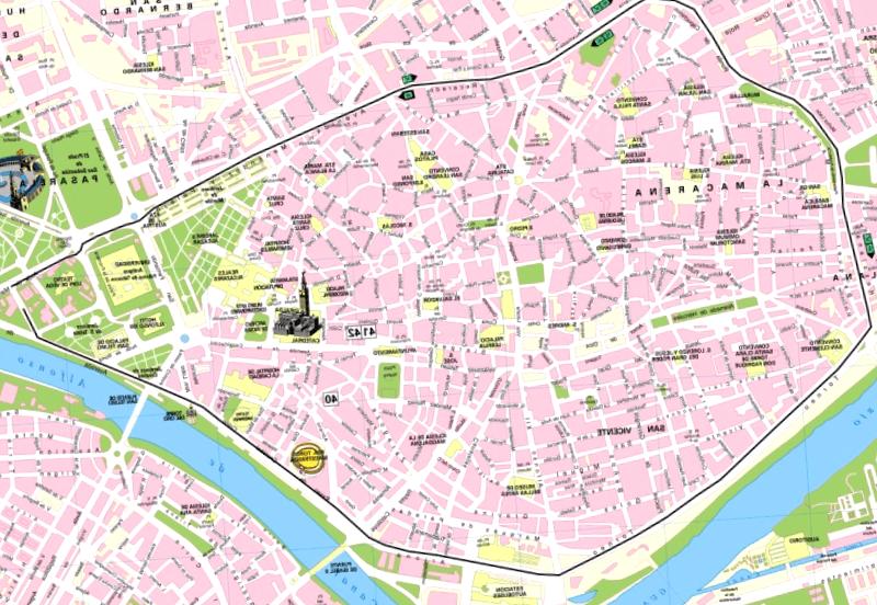 La Mejor Guia De Plano Turistico De Sevilla De 2020
