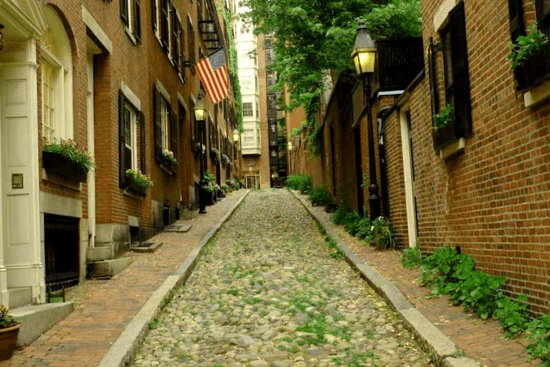 Acorn Street que debemos ver