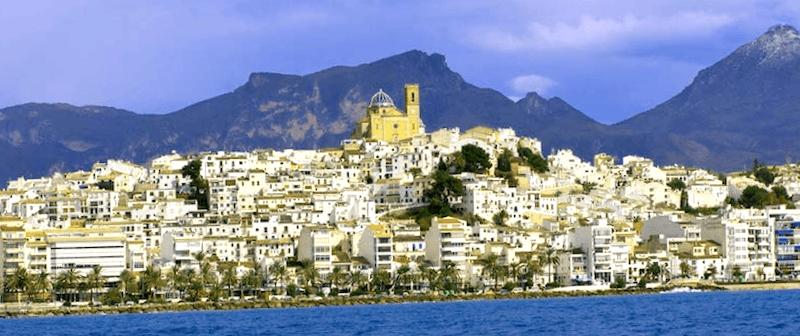 Ver España y descubrir de Altea