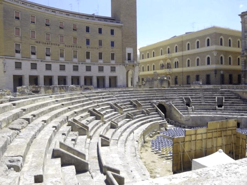 Que descubrir en Anfiteatro Romano de Lecce