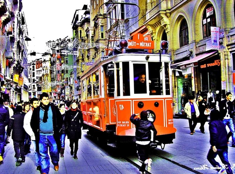 Visitar Turquia y descubrir de Avenida Istiklal