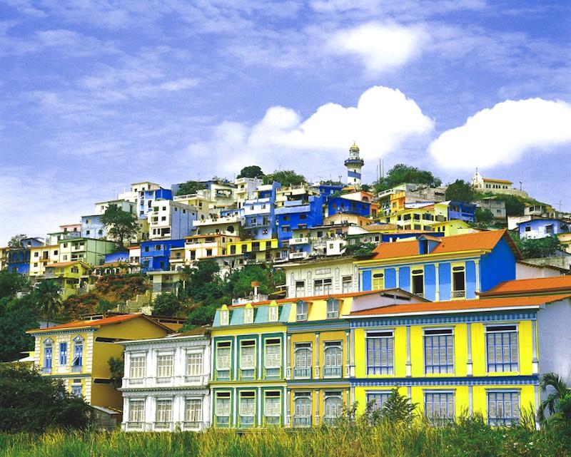 Ver Ecuador y descubrir de Barrio Las Penas y cerro Santa Ana