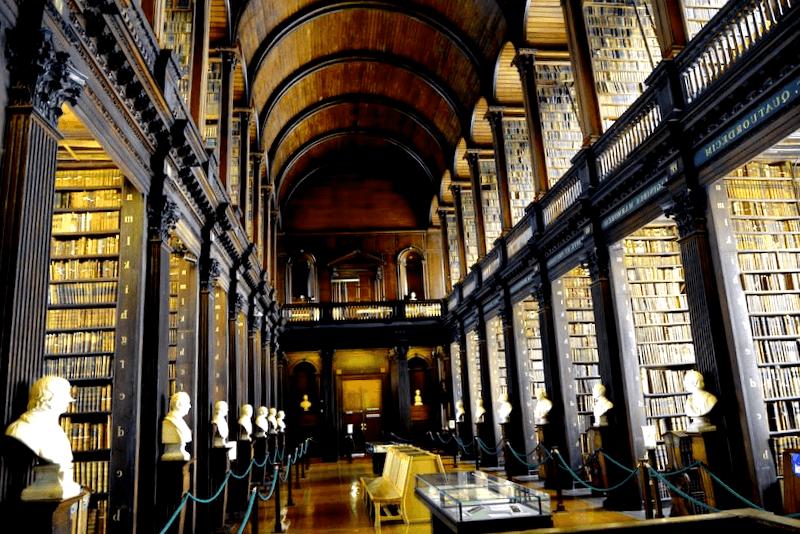 Biblioteca de Trinity College que debemos ver