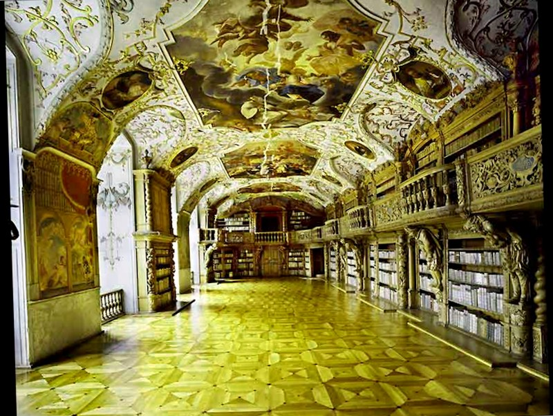 Conocer Biblioteca del Monasterio de Wiblingen