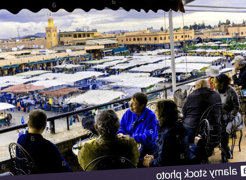 Conocer Marruecos y maravillarse de Cafe Glacier