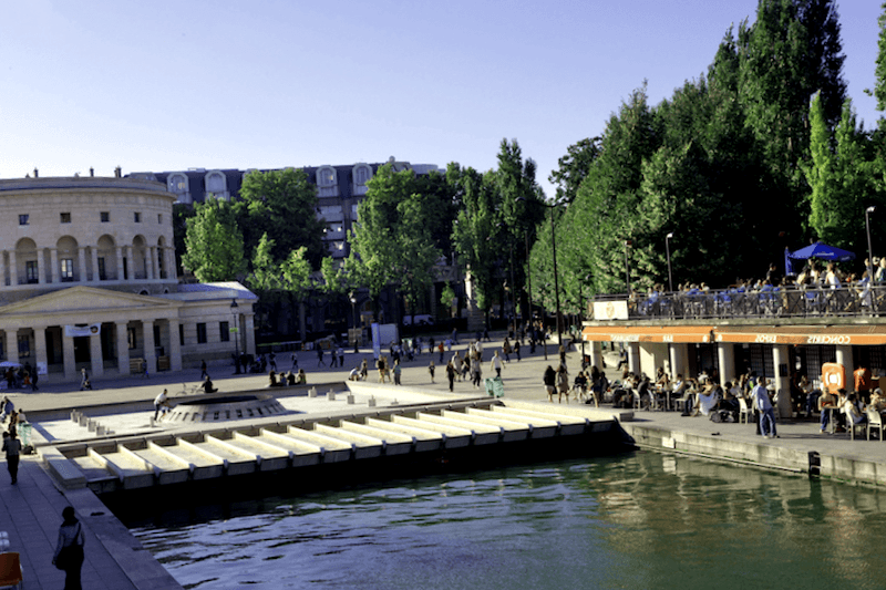 Canal DOurcq que visitar