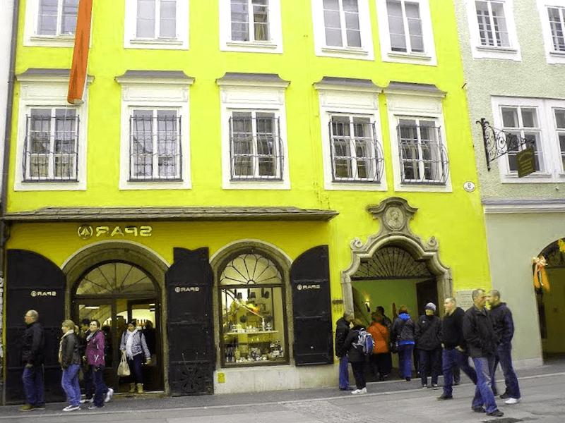 Casa natal de Mozart que ver