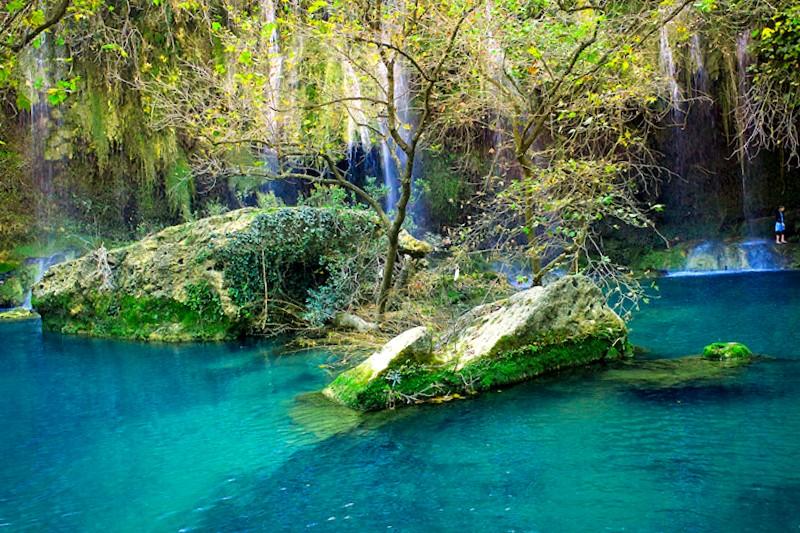 Cascada de Kursunlu que descubrir
