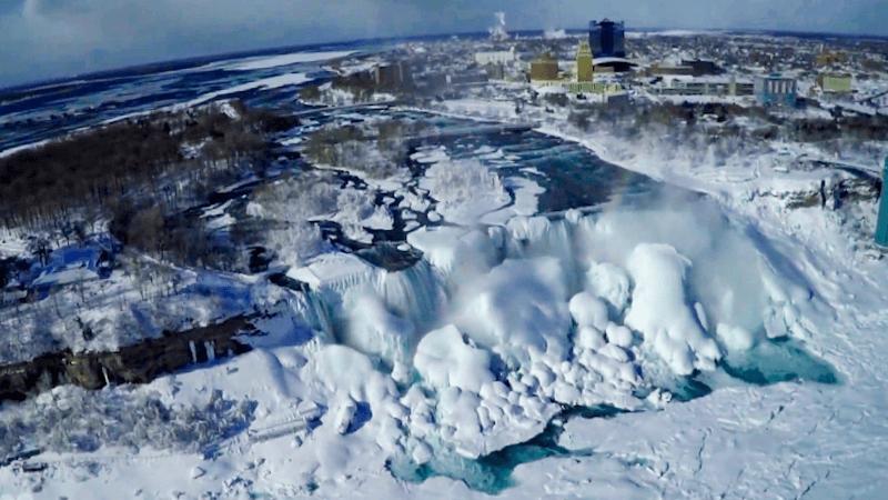 Cataratas del Niagara congeladas que visitar