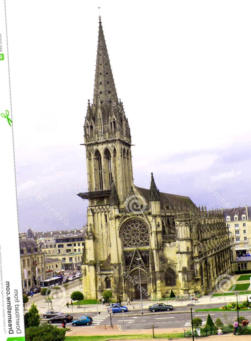 Conocer Francia y descubrir de Catedral de Caen