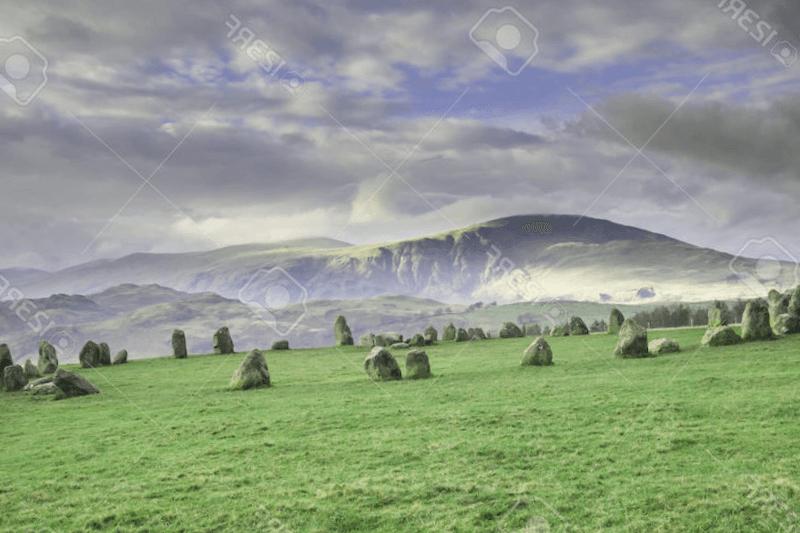 Visitar Inglaterra y maravillarse de Circulo de Piedra de Castlerigg