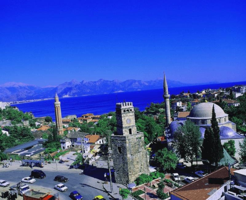 Ciudad de Antalya que ver