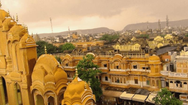 Ver India y maravillarse de Ciudad de Jaipur