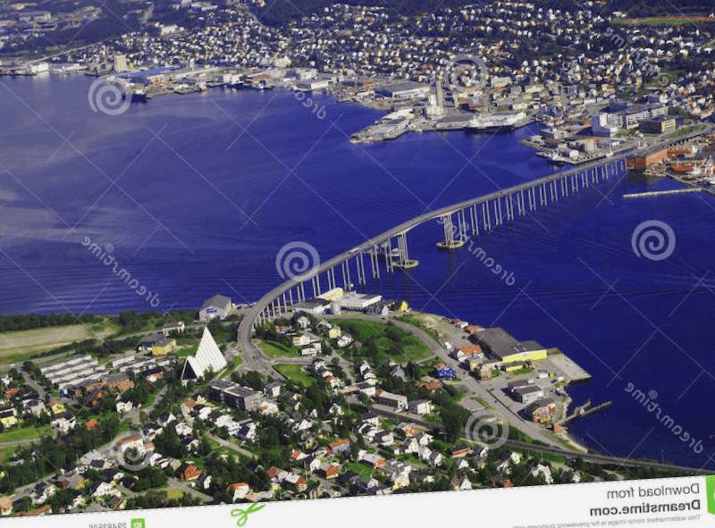 Ver Noruega y maravillarse de Ciudad de Tromso