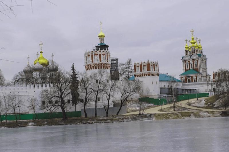 Visitar Rusia y maravillarse de Convento de Novodievitchi