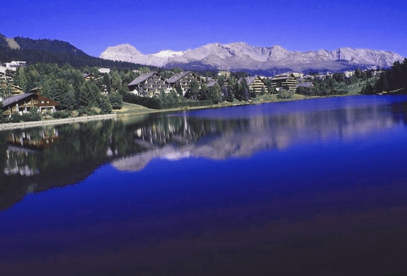 Visitar Suiza y maravillarse de Crans-Montana