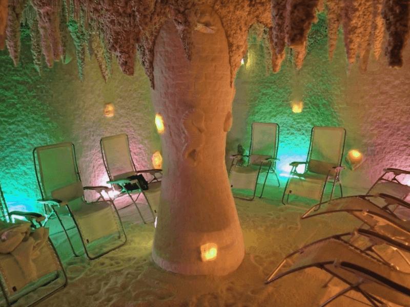 Cueva de sal Galos que visitar