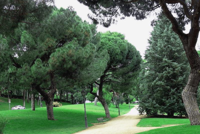 Ver España y maravillarse de Detalles del Parque del Oeste
