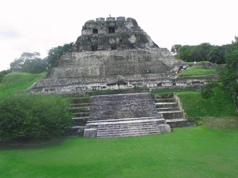 El Castillo de Xunantunich que ver