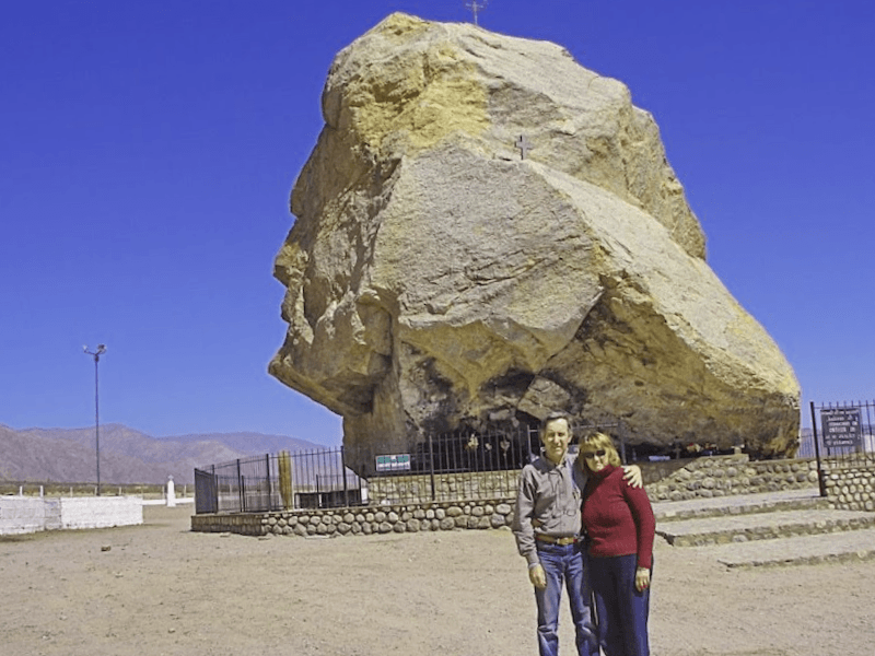 Visitar Argentina y maravillarse de El Senor de la Pena