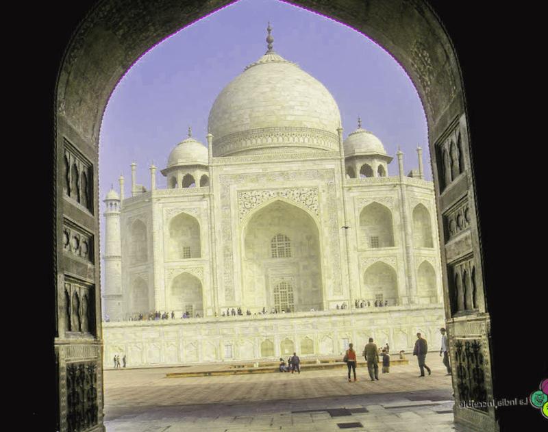 Ver India y descubrir de Entrada al Taj Mahal