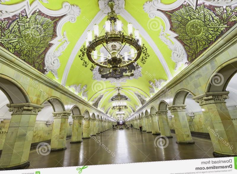 Estacion Komsomolskaya que debemos ver