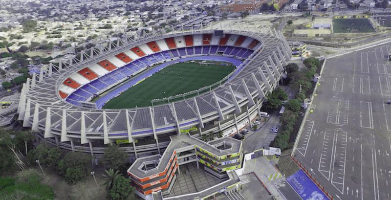 Conocer Colombia y maravillarse de Estadio Metropolitano