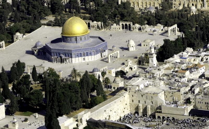Ver Israel y maravillarse de Explanada de las Mezquitas