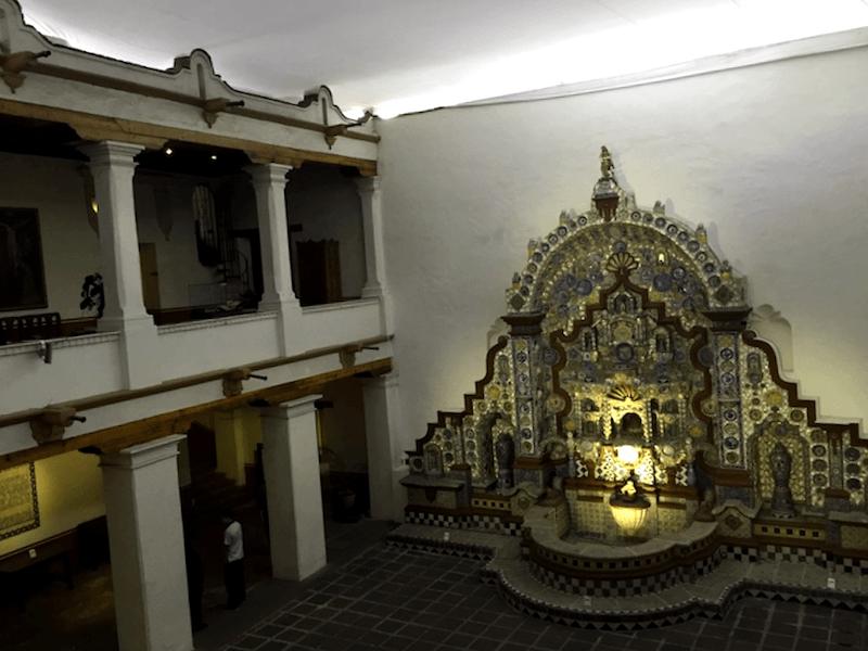 Visitar Mexico y descubrir de Fuente del Museo Casa del Risco