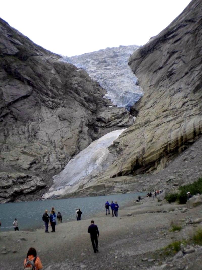 Ver Noruega y maravillarse de Glaciar Jostedalsbreen
