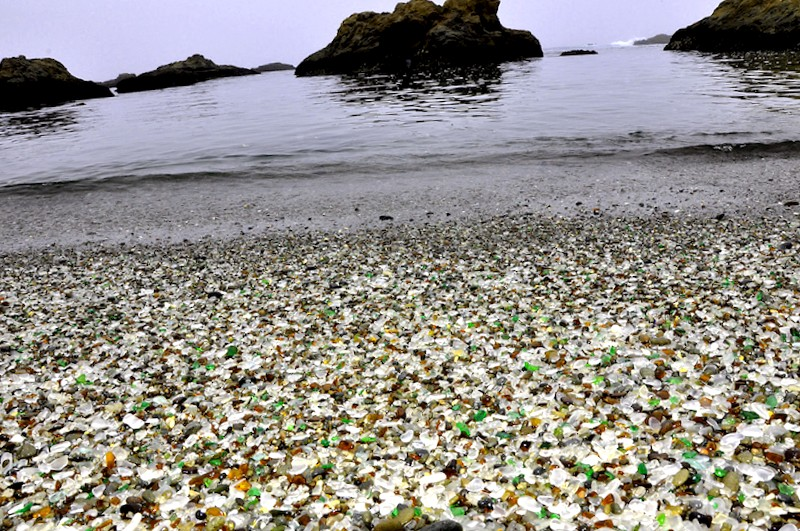 Que visitar en Glass Beach