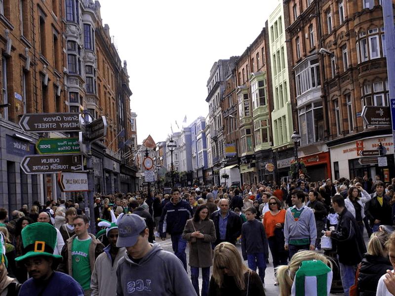 Ver Irlanda y descubrir de Grafton Street