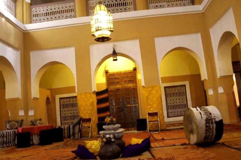 Interior de la Kasbha que debemos ver