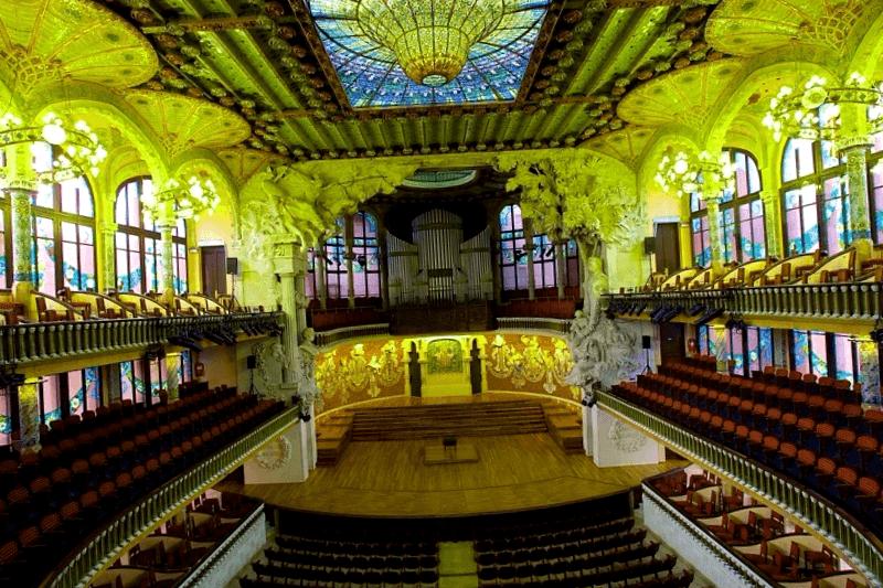 Que ver en Interior del Palau de la Musica Catalana