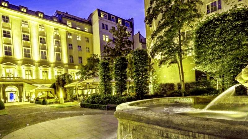Kempinski Hybernska Hotel que ver