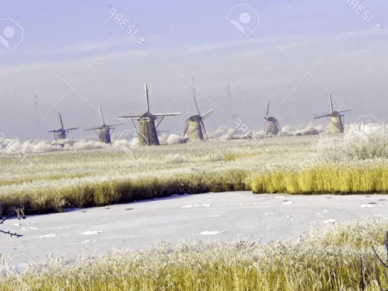 Que ver en Kinderdijk en invierno
