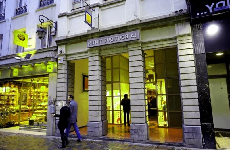 La Boutique de Tintin que descubrir