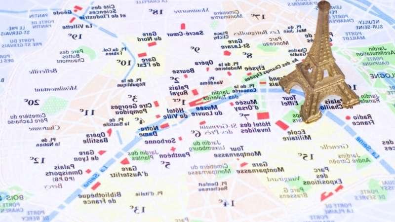 Mapa Turistico De Francia.Prepara Tu Viaje A Mapa Turistico De Paris De 2019