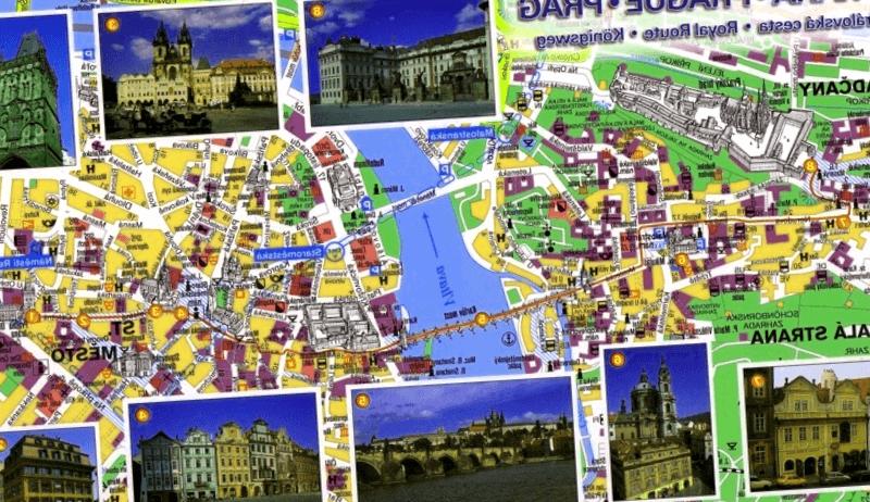 Visitar Mapa turistico del centro de Praga