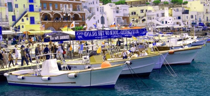 Conocer Italia y descubrir de Marina Grande de Capri