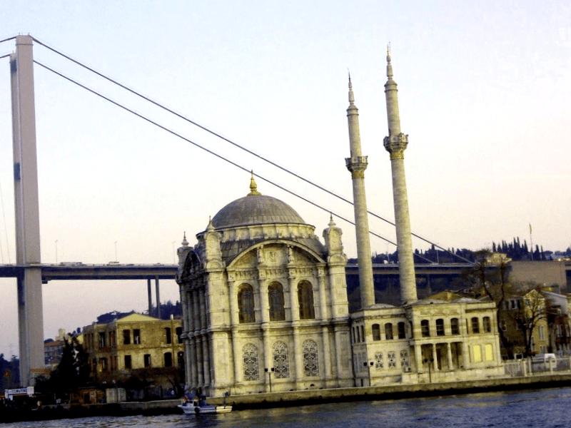 Conocer Turquia y descubrir de Mezquita de Ortakoy