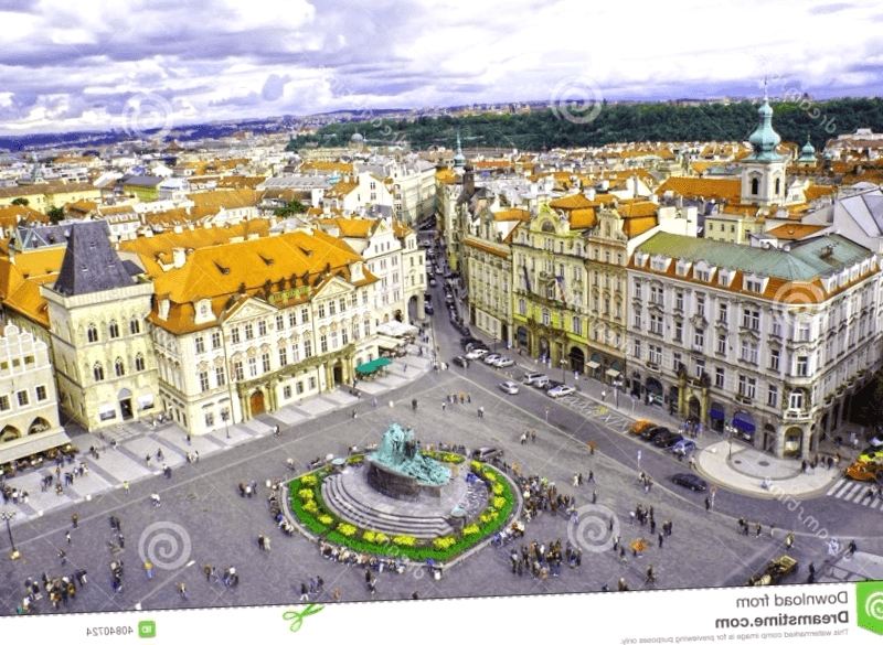 Conocer Republica checa y maravillarse de Monumento a Jan Hus