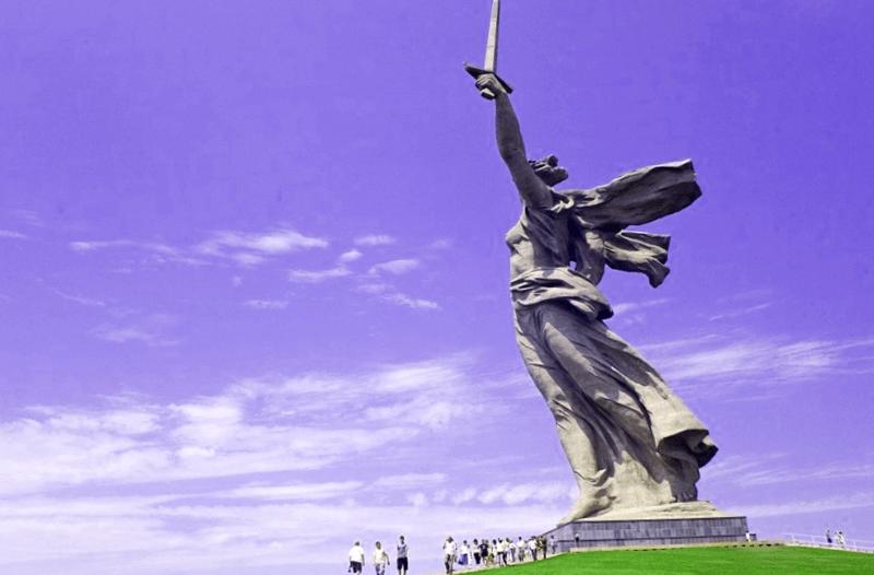 Conocer Ucrania y maravillarse de Monumento a la Madre Patria