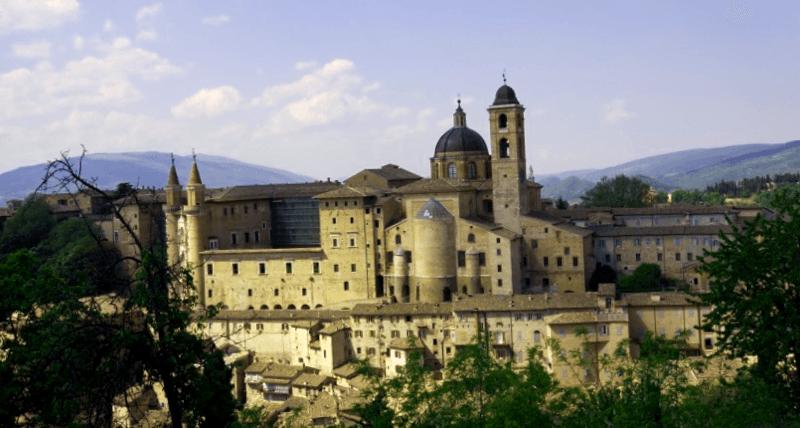 Ver Italia y maravillarse de Palacio Ducal de Urbino