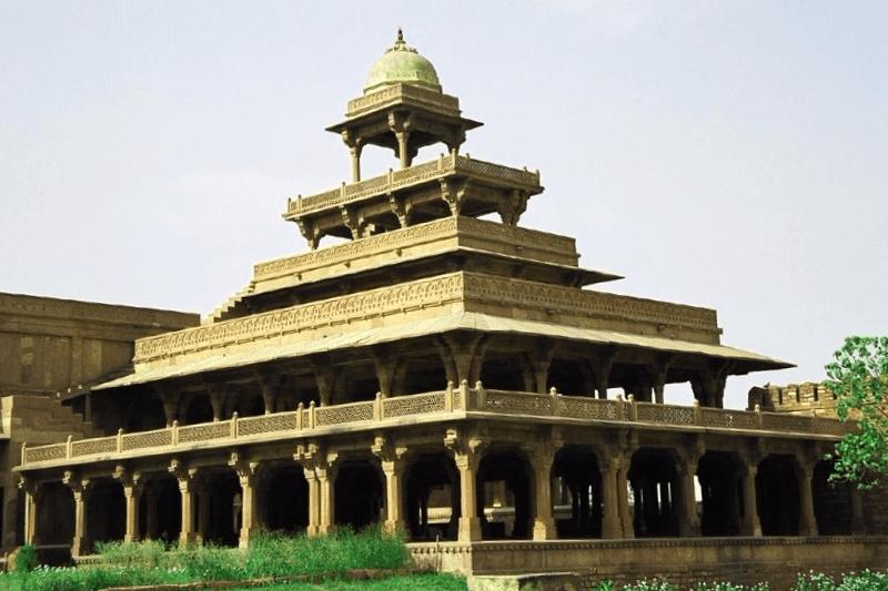 Ver India y maravillarse de Palacio de Pach Mahal