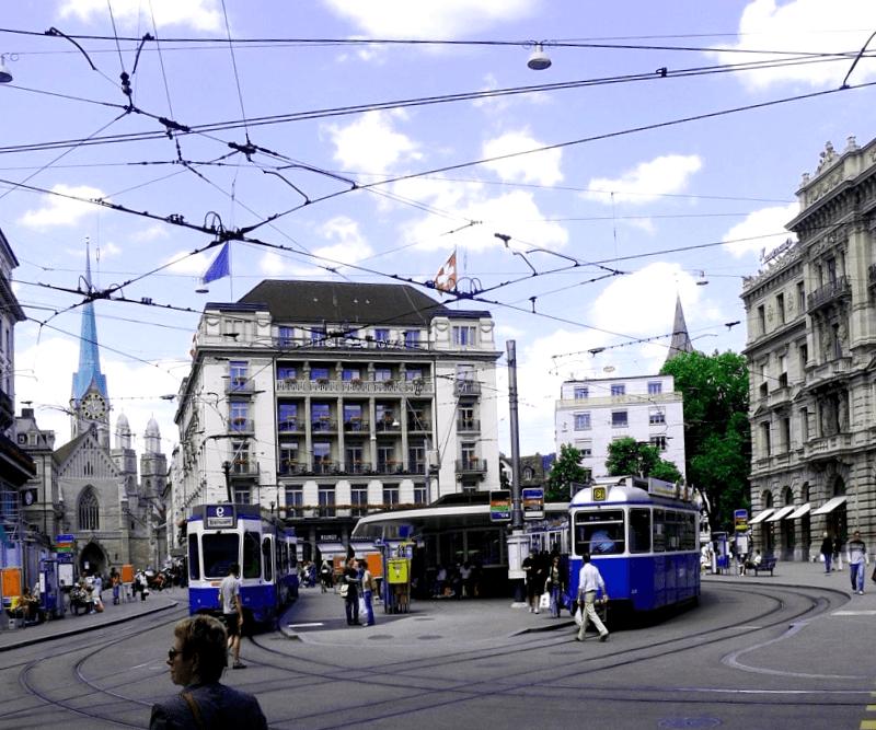 Visitar Paradeplatz