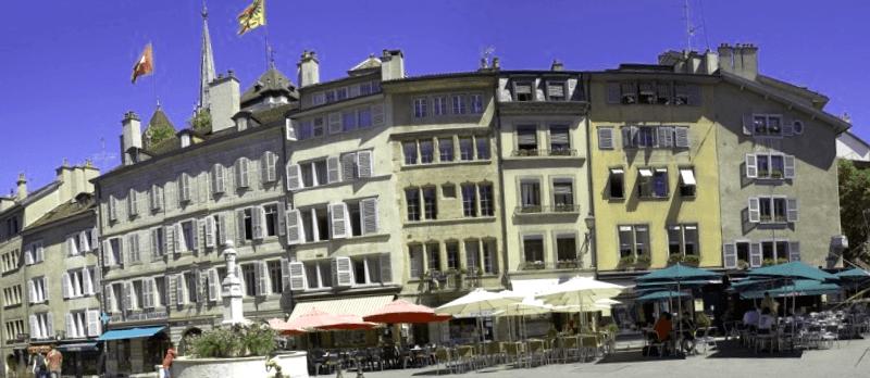 Visitar Suiza y descubrir de Place du Bourg-du-Four
