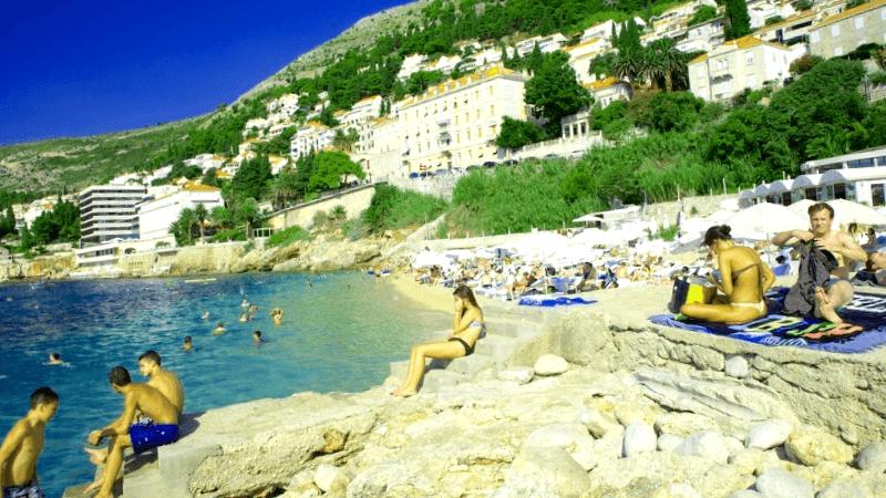 Conocer Croacia y descubrir de Playa de Banje