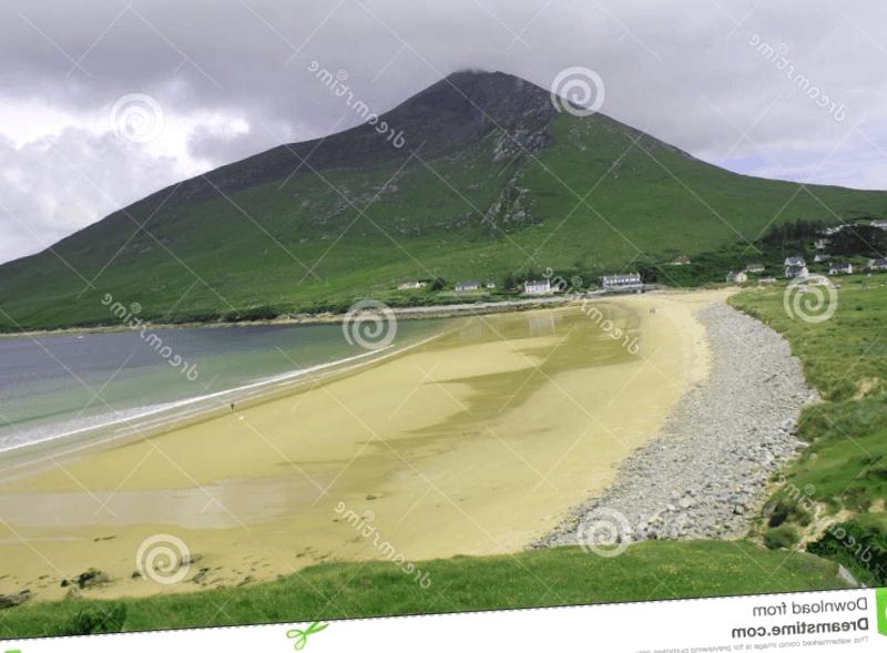 Playa en isla de Achill que ver